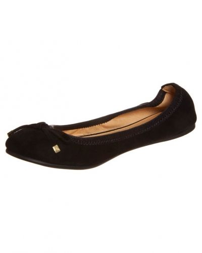 Buffalo Buffalo Ballerinas kid suede black