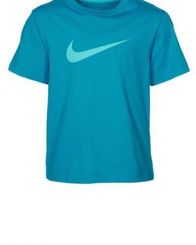 Nike Performance BIG SWOOSH Tshirt med tryck Turkos - Nike Performance - Kortärmade träningströjor