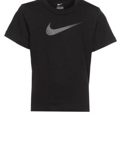 Nike Performance BIG SWOOSH Tshirt med tryck Svart - Nike Performance - Kortärmade träningströjor