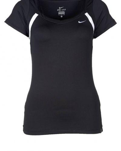 Nike Performance BORDER Funktionströja Svart från Nike Performance, Kortärmade träningströjor