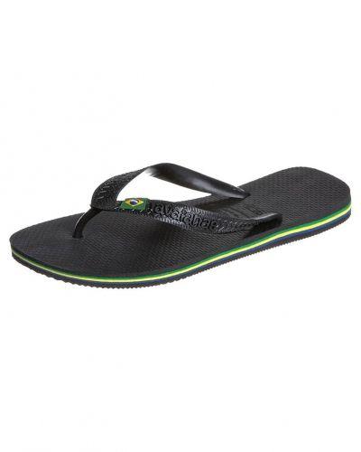 Havaianas BRASIL LOGO Flipflops Svart - Havaianas - Träningsskor flip-flops
