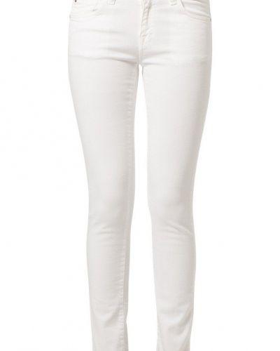 Vit slim fit jeans från Edwin till dam.