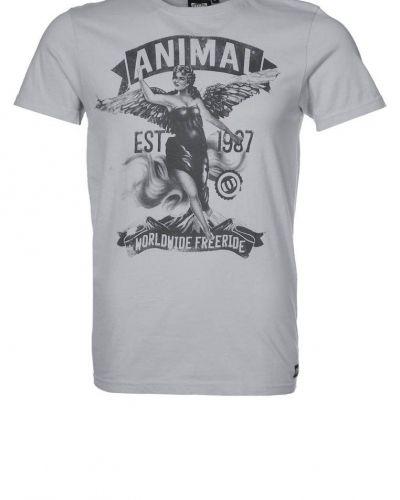 Animal BROTTON Tshirt med tryck Grått - Animal - Kortärmade träningströjor