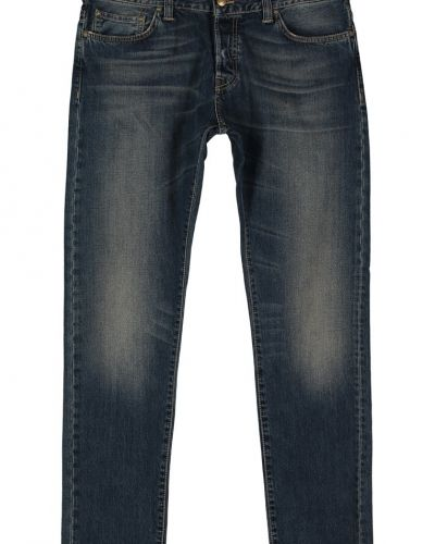 Buccaneer hanford jeans slim fit blue strand washed Carhartt straight leg jeans till dam.