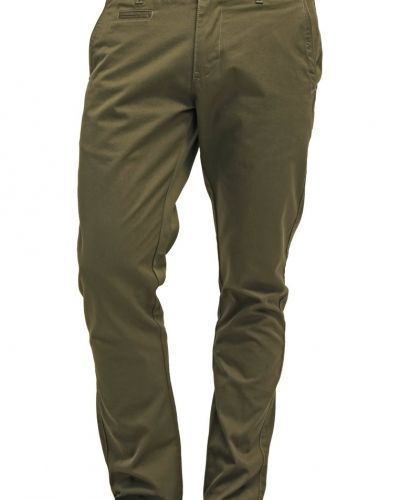 Knowledge Cotton Apparel Chinos oliv