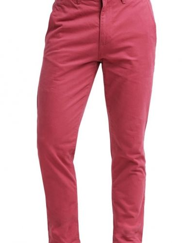 Chinos red Burton Menswear London chinos till dam.
