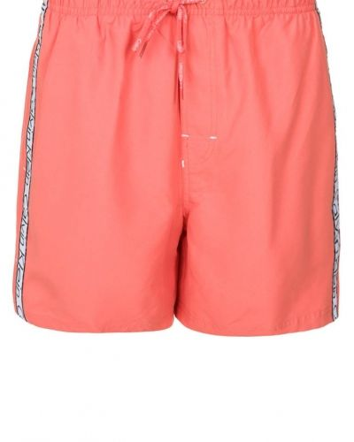 Calvin Klein Swimwear CK ONE LOGO TAPE Surfshorts Orange - Calvin Klein Swimwear - Badshorts