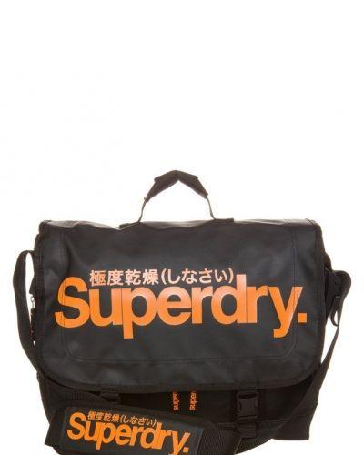 Classic tarpauline laptop bag axelremsväska - Superdry - Axelremsväskor