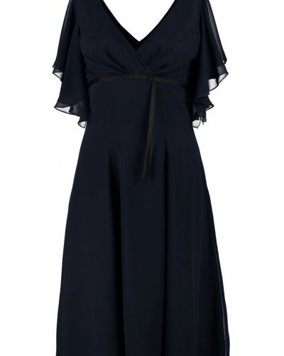 Till tjejer från Swing, en blå cocktailklänning.