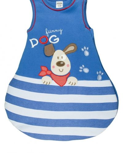 Till barn från Jacky Baby, en blå pyjamas.