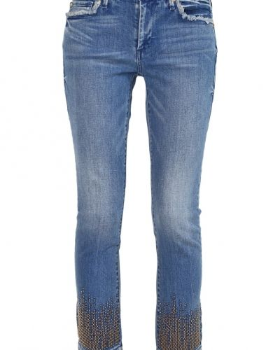 Cora jeans straight leg gypset blue True Religion straight leg jeans till dam.