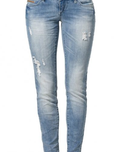 ONLY CORAL Jeans slim fit light blue denim från ONLY