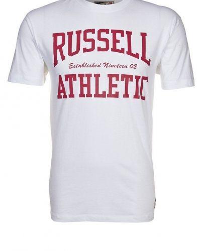 Crew neck tshirt med tryck - Russell Athletic - Kortärmade träningströjor