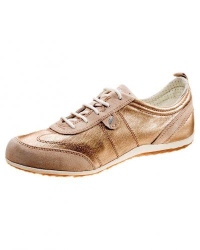 Geox D VEGA Sneakers Guld Geox sneakers till dam.