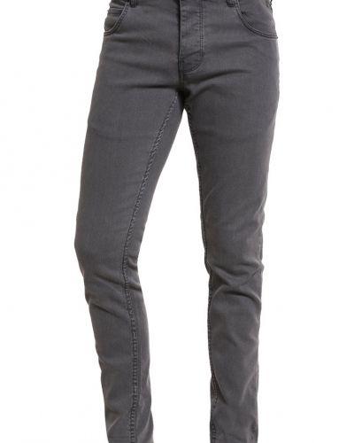 Dexter jeans slim fit dark grey Solid slim fit jeans till dam.