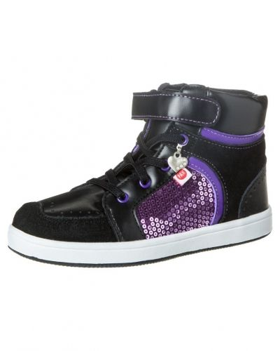 Lila höga sneakers från Pax