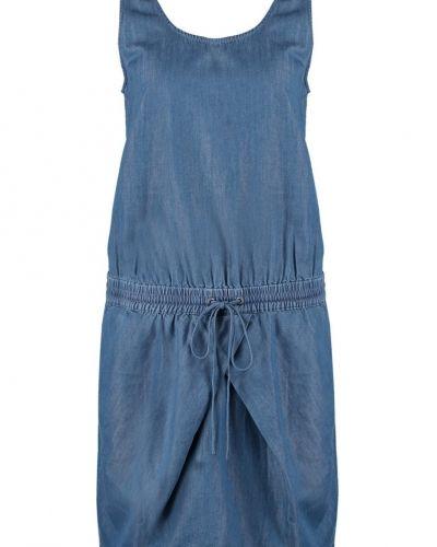Domino chambray jeansklänning mid indigo Calvin Klein Jeans jeansklänning till tjejer.