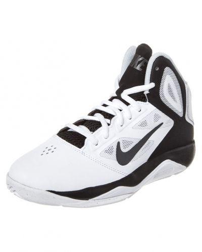 Nike Performance DUAL FUSION BB 2 Indoorskor Vitt - Nike Performance - Inomhusskor