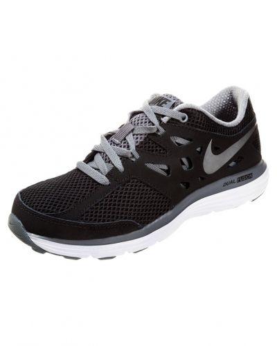Nike Performance Nike Performance DUAL FUSION LITE Löparskor dämpning black/metallic cool grey/cool grey/white