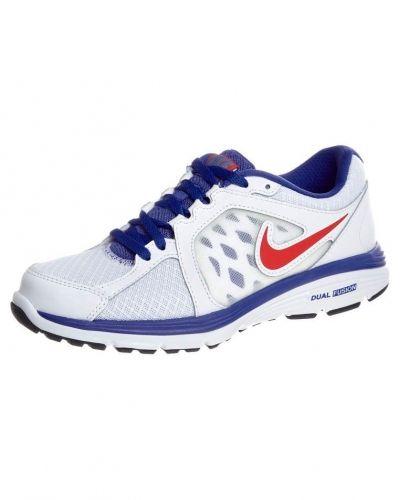 Nike Performance Nike Performance DUAL FUSION RUN Löparskor dämpning Vitt. Traningsskor håller hög kvalitet.