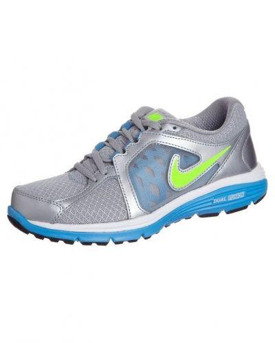 Nike Performance Nike Performance DUAL FUSION RUN Löparskor dämpning Silver. Traningsskor håller hög kvalitet.