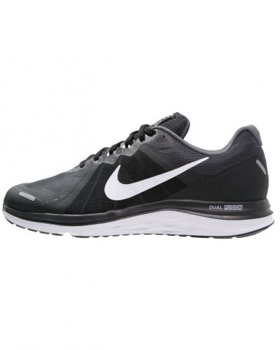 Löparsko Nike Performance DUAL FUSION X 2 Neutrala löparskor black/white/dark grey från Nike Performance