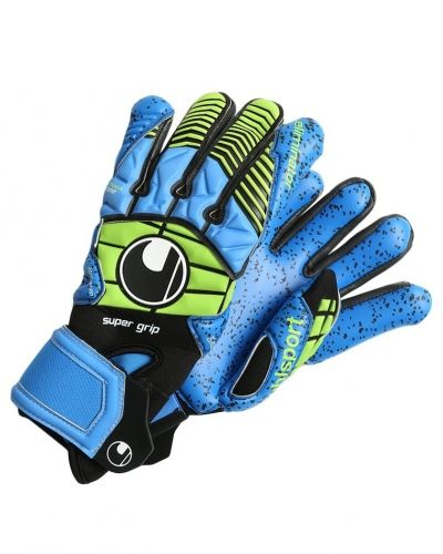Uhlsport Uhlsport ELIMINATOR Målvaktshandskar schwarz/blau/power green