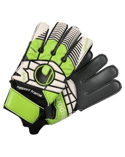 Målvaktshandske Uhlsport ELIMINATOR SOFT GRAPHIT Målvaktshandskar schwarz/blau/power grün från Uhlsport