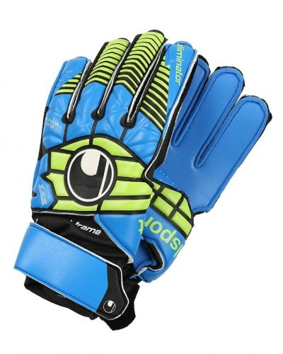Uhlsport Uhlsport ELIMINATOR SOFT Målvaktshandskar schwarz/blau/power green