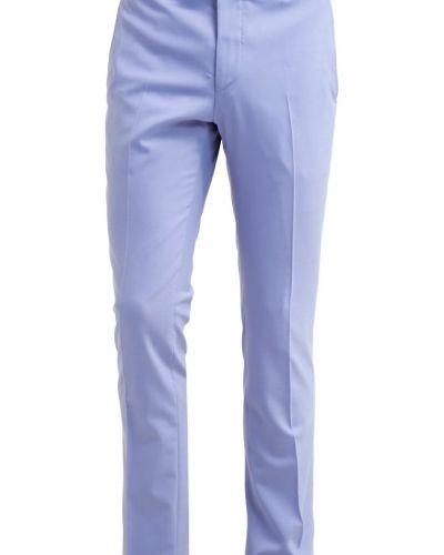 Noose & Monkey Ellroy kostymbyxor light blue