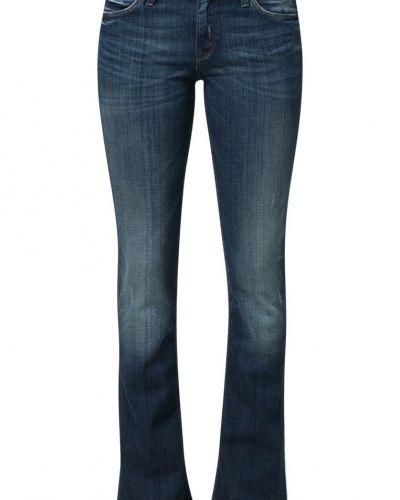 Blå bootcut jeans från Lee till tjejer.