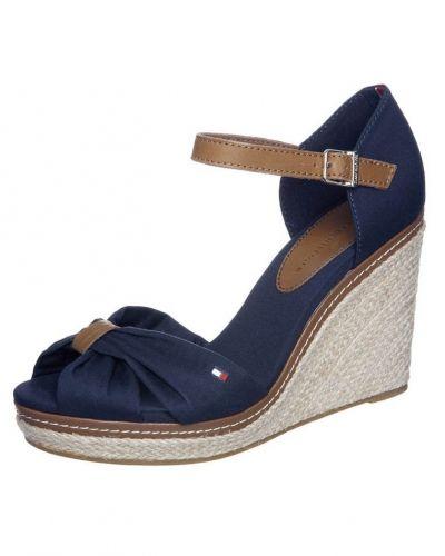 Sandaletter med kilklack Emery sandaletter blått från Tommy Hilfiger