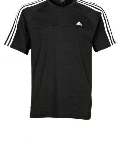 adidas Performance ESS 3S CREW T Tshirt bas Svart från adidas Performance, Kortärmade träningströjor