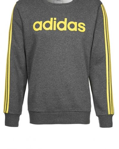 adidas Performance ESS LIN CREW Sweatshirt Grått från adidas Performance, Långärmade Träningströjor