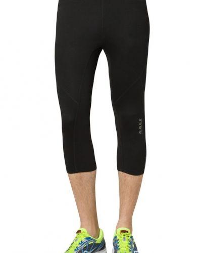 Gore Running Wear Gore Running Wear ESSENTIAL TIGHTS 3/4 Tights Svart. Traningsbyxor håller hög kvalitet.