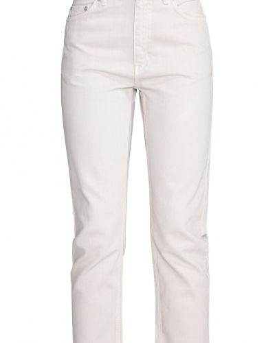 Eve jeans straight leg cream Wood Wood straight leg jeans till dam.