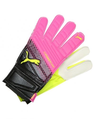 Puma Puma EVOPOWER GRIP 4.3 Målvaktshandskar pink/glo safety/yellow/black