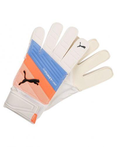 Målvaktshandske Puma EVOPOWER GRIP 4.3 Målvaktshandskar puma white/blue yonder/shocking orange från Puma