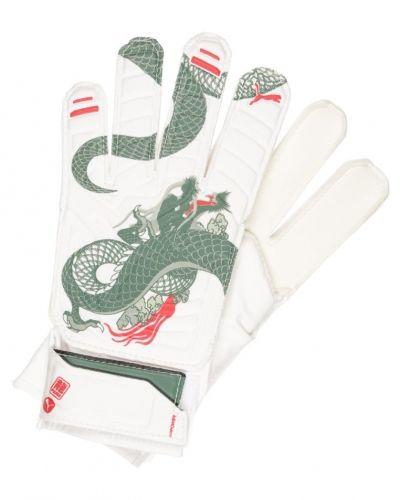Evopower målvaktshandskar white trellis/high risk/red dragon Puma målvaktshandske till mamma.