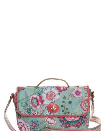 Oilily Fantasy flora handväska grönt. Väskorna håller hög kvalitet.