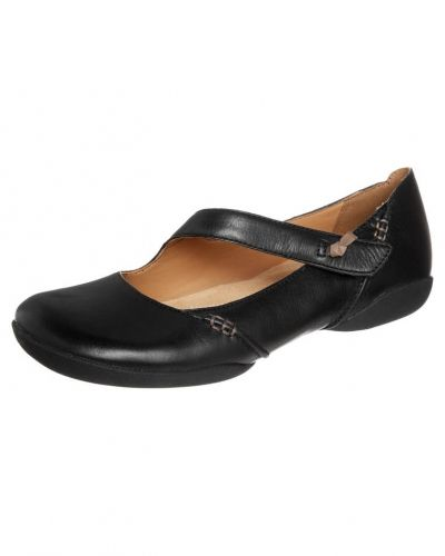 Clarks Clarks FELICIA PLUM Ballerinas med remmar black leather