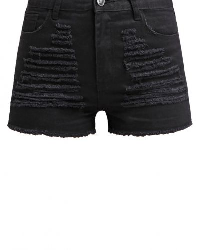 Missguided Missguided FESTIVAL Jeansshorts washed black