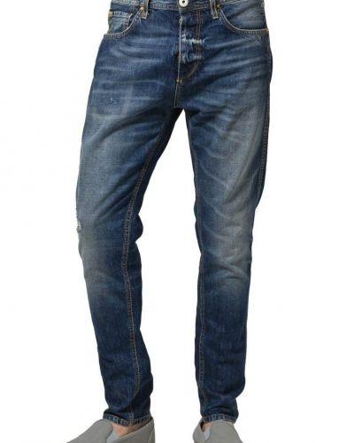 Blå loose fit jeans från Selected Homme till herr.