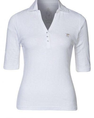 Polo Sylt FLAME Piké Vitt - Polo Sylt - Kortärmade träningströjor