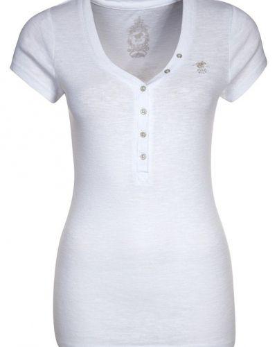 Polo Sylt FLAME Tshirt bas Vitt - Polo Sylt - Kortärmade träningströjor