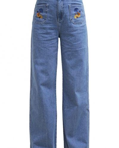 Flared jeans mid blue Glamorous bootcut jeans till tjejer.