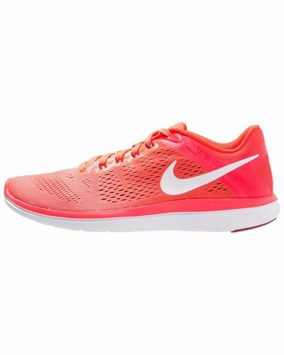 Flex 2016 run löparskor för tävling bright mango/white/bright crimson/noble red Nike Performance löparsko till mamma.