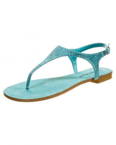 Till dam från Francesco Milano, en blå flip-flops.