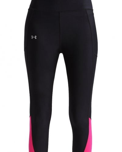 Fly by 2.0 tights black/tropic pink Under Armour träningstights till dam.