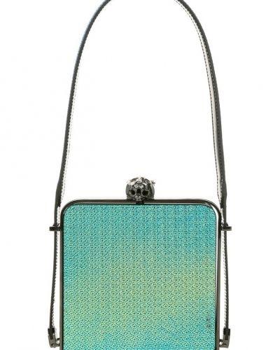 Mugler Frame tiger handväska blått. Väskorna håller hög kvalitet.